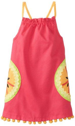 Mud Pie Little Girls' Tutti Frutti Dress, Pink, 3T