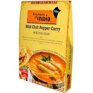Kitchens Of India Mild Chili Pepper Curry -- 10 oz