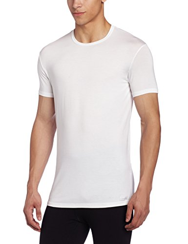 Calvin Klein Men's Micro Modal Short-Sleeve Crew-Neck T-Shirt