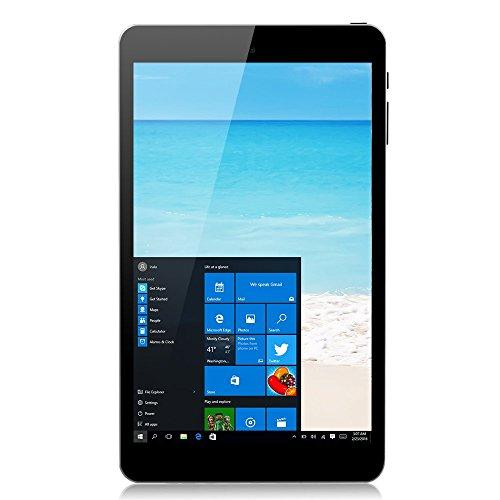 iRULU 8 Inch Windows 10 Tablet PC 32GB, HD 800*1280 IPS Display, Bluetooth 4.0, Micro HDMI, Dual Camera, WiFi(Black)