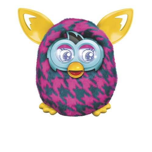 Furby Boom (Purple Houndstooth)