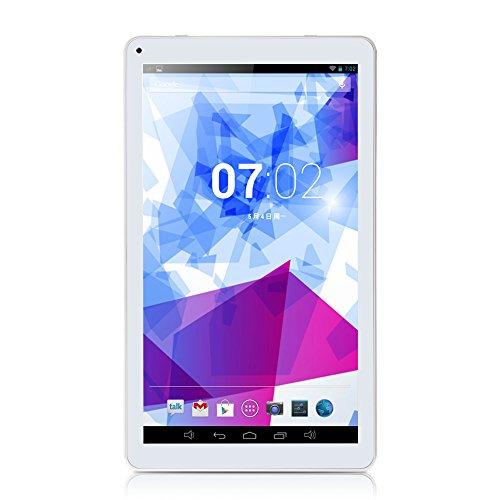 iRULU X1 Pro Lightning 10.1 Inch Android 4.4 KitKat Tablet Octa Core 16 GB - White