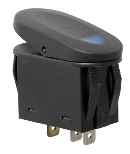 Rugged Ridge 17235.03 Blue 2-Position Rocker Switch
