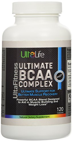 Ultimate BCAA Complex is a Powerful Blend of 3 of the Most Important Amino Acids--Leucine, Isoleucine & Valine--to Give You Ultimate Support for Quick Muscle Recovery. Taken Before & After Your Work-Outs, Ultimate BCAA Can Provide Your Body With Much Needed Fuel --Enhance Sports Performance--Help Reduce Muscle Breakdown--and Support Weight Loss. Satisfaction is Always Guaranteed or Your Money Back.