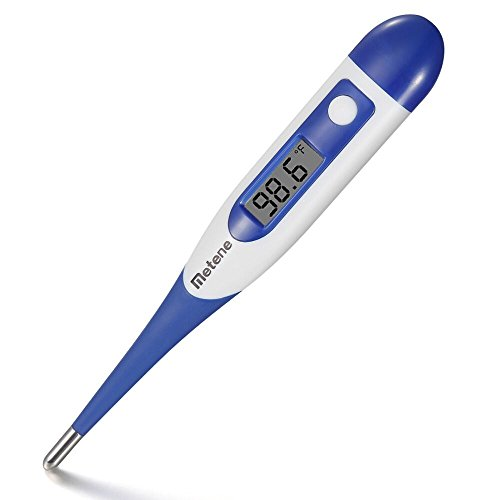 Metene Clinical Professional Digital Thermometer Oral or Axillary Oxter Use for Baby?Child, Adult to Detect Fever Measure Temperature