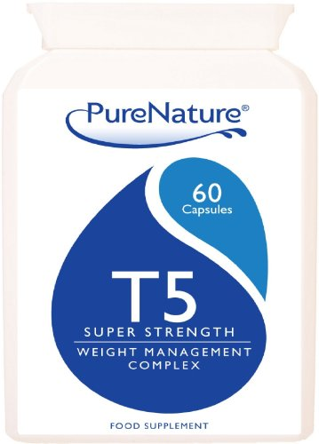 T5 Super Strength Thermogenic Diet Slimming Pills New Higher Strength Ingredients 60 Capsules Suitable for Vegetarians FREE UK Delivery