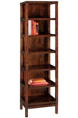Martha Stewart Living™ Lombard Bookcase, 5-SHELF, SABLE BROWN