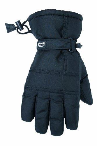 Custom Leathercraft 2077L Black Ski Glove, Large