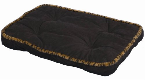Precision Pet SnooZZy SleepeZZe Simply Suede Pet Bed, Safari