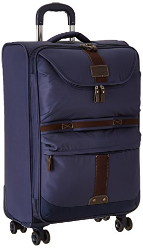 G.H. Bass Mckinley 25-Inch Upright Luggage, Blue, One Size