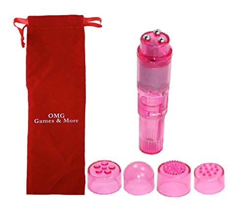 OMG Powerful Pocket Rocket Vibrator, Pink