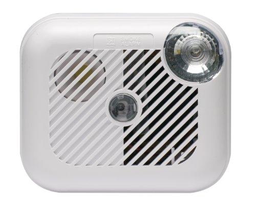 Ei Electronics Battery Smoke Alarm with Automatic Ultra Bright Escape Light