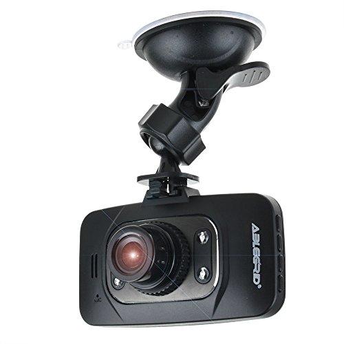 ABLEGRID GS8000L Night Vision HD 1080P 2.7 120 Degree +Novatek 96220 Chipset Car DVR G-sensor HDMI Vehicle Camera Video Recorder Dash Cam Motion Detection Support 32GB Black