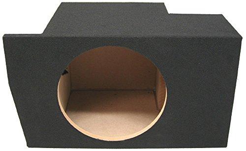 ASC Ford Mustang Coupe 2005-2014 Single 10 Subwoofer Custom Fit Trunk Corner Sub Box Speaker Enclosure