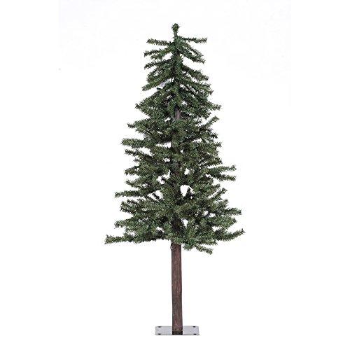 Vickerman 5' Unlit Natural Alpine Christmas Tree