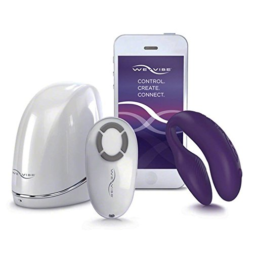 We-Vibe Rechargeable Couples Silicone Waterproof Massager, Purple