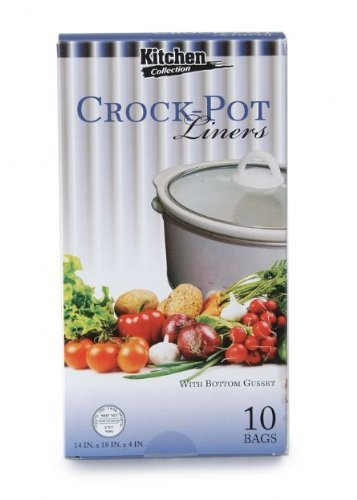 Kitchen Collection Crock Pot Liners 10 Bags 14x18x4