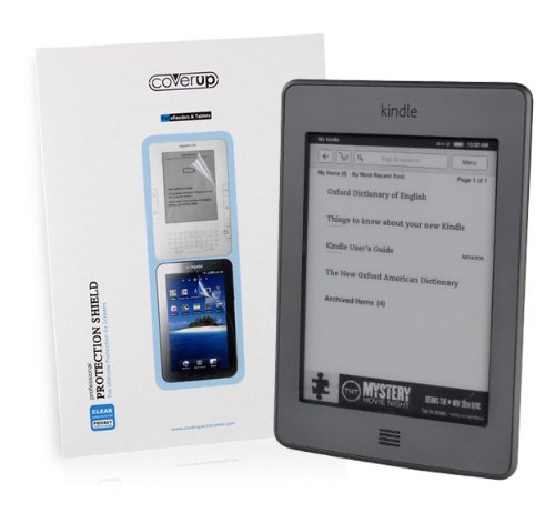 Cover-Up Amazon Kindle Touch 2011 model, Wi-Fi / 3G, 6-inch eReader Anti-Glare Matte Screen Protector