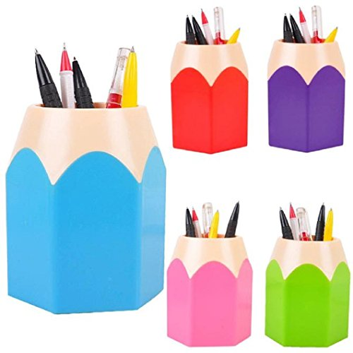 DZT1968® Pen&Pencil Makeup Brush Holders Desk Storage Organizer Office Supplies