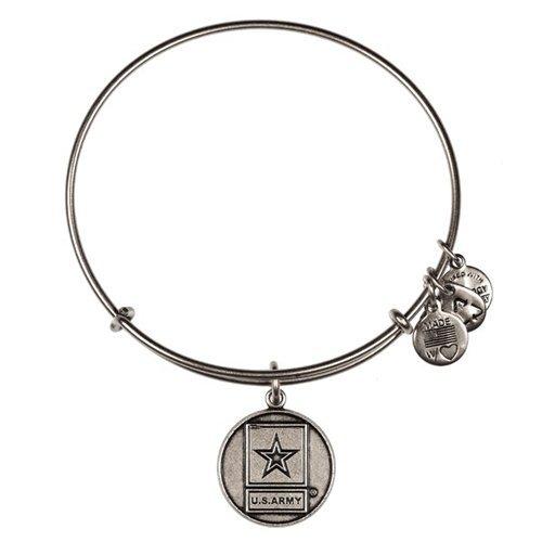 Alex and Ani U.S. Army Charm Bangle Bar Bracelet