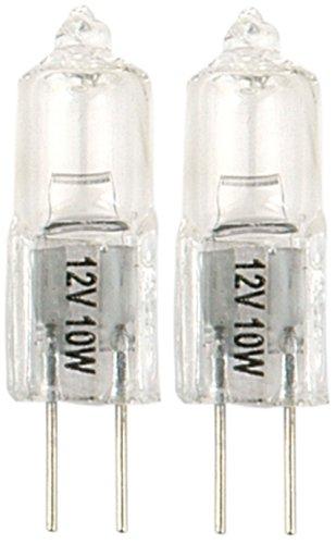 Moonrays 95517 10-Watt Halogen Bi-pin Replacements, 2 Pack