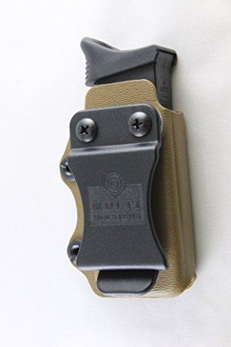 Multi Holsters Elite Single Magazine Holsters (Glock 43, Coyote Brown)