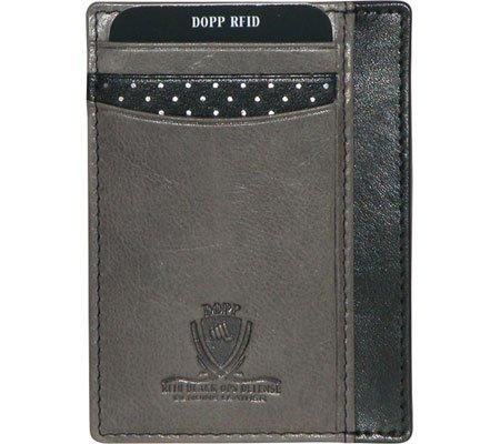 Dopp Men's RFID Alpha Collection Front Pocket Getaway Slim Wallet