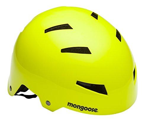 Mongoose MG77962-2 Street Youth Hardshell, Neon Yellow