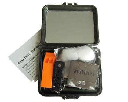 Mil-tec Military Survival Kit (Plastic Case)