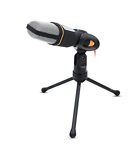 Professional Condenser Sound Podcast Studio Microphone For PC Laptop Computer
