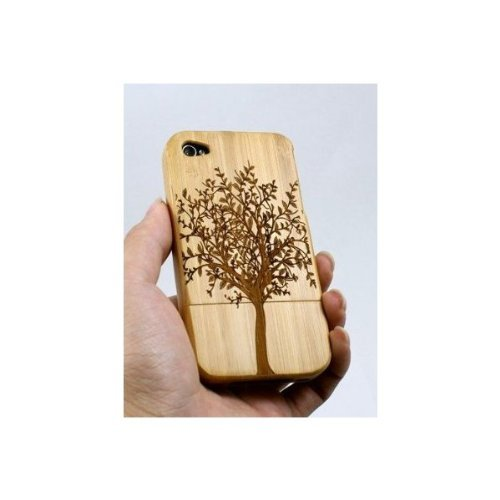 BONAMART ® iPhone4 4S Bamboo Protective Shell/case Wooden Protective Shell