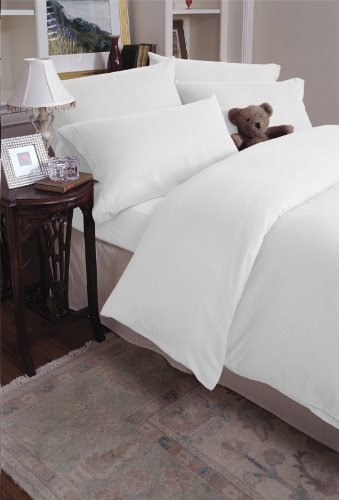 Luxury European 200-gram 100% Cotton Flannel Sheet Set