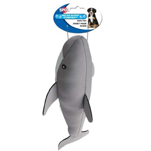 Ethical Pet Water Buddy Dog Toy, 14-Inch, Shark