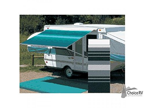 Carefree (981185800) Black/Gray 9' 10 Campout Bag Awning with Arm Set