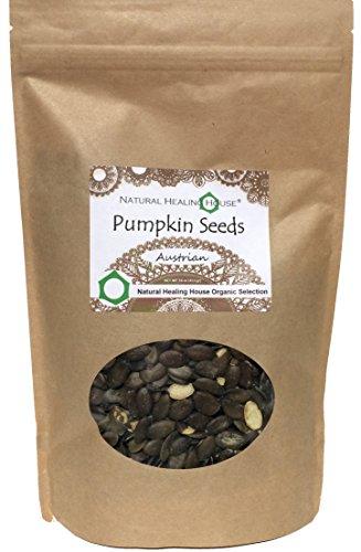 Natural Healing House Organic Raw Austrian Pumpkin Seeds 16 oz