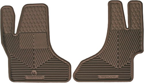 Highland 4404200 All-Weather Tan Front Seat Floor Mat