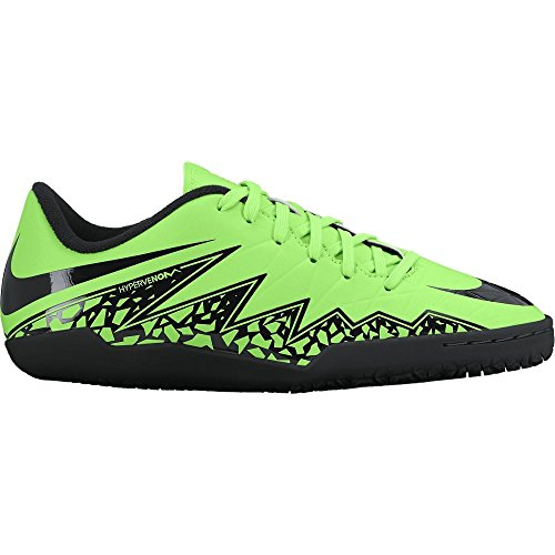 Nike Youth Hypervenom Phelon II Indoor (GREEN STRIKE/BLACK) (6Y)