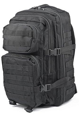 Schoolbag, scholastic tough school bag, indestructible adjustable size satchel, max. capacity 50L, colour black.