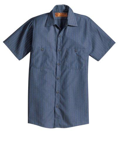 CornerStone Red Kap - Short Sleeve Industrial Work Shirt>XL Reg Grey SP24