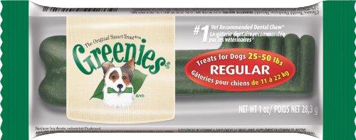 GREENIES Dental Chews Regular Dog Treats, 1 Treat,  1 oz.