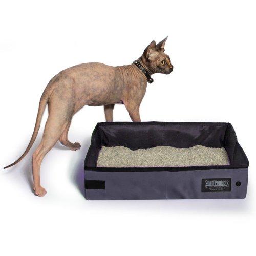 Sturdi Products SturdiBox Foldable Water Tight Box, 2-Gallon, Smoke