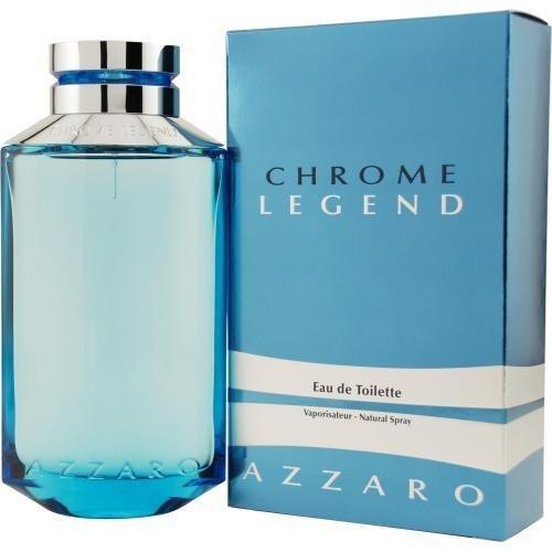 Azarro Chrome Legend By Azzaro For Men EDT Spray 2.6 Oz