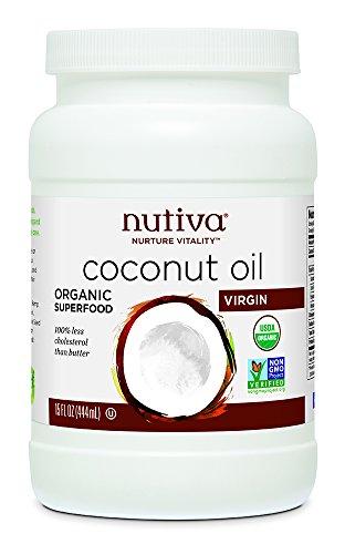 Nutiva Organic Virgin Coconut Oil, 15 oz.