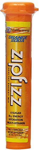 Zipfizz Healthy Energy Drink Mix, Orange Soda, 30-count