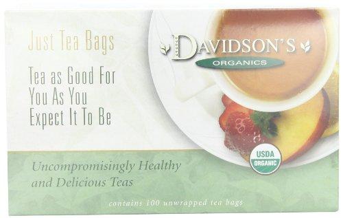 Davidson's Tea Decaf Vanilla, 100-Count Tea Bags