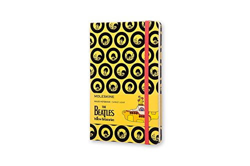 The Beatles Carnet Grand Format Ligne  Yellow