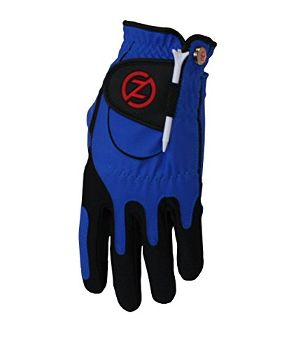 Zero Friction Men's Golf Gloves, Right Hand, One Size, Blue