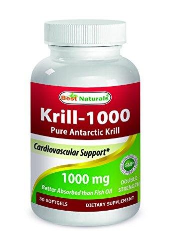 Best Naturals Krill Oil Mg Softgels Review
