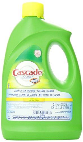 Cascade Lemon Scent Gel Dishwasher Detergent 2.26 L- Packaging May Vary