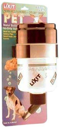 Lixit 30-0357-024 Flip-Top Water Bottle, 16-Ounce